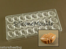 NEW 24 cell CELTIC HEART Professional POLYCARBONATE Chocolate Mould Mold Candy