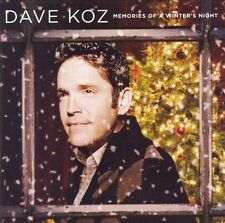Dave Koz Memories of a Winter's Night CD Blue Note D David Benoit  BRAND NEW  #8