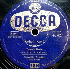 1251/Tommy Steele-Rebel Rock-singing the blues-rock and roll-epoca-GOMMA LACCA