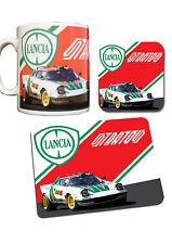 Lancia Stratos Rally Car Collection Mug, Coaster & Mouse Mat