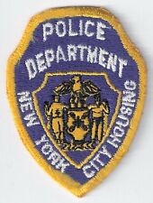 New York City Housing Authority NYCHA Police Department Hat Patch - New York, NY