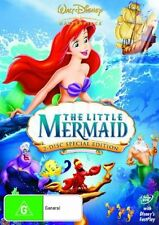 THE LITTLE MERMAID: SPECIAL EDITION :  (Walt Disney 2-DVD set Region 4) HTF
