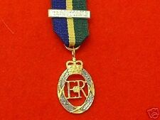 Quality Territorial Decoration Miniature Medal