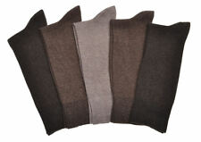 5 Pairs of MEN'S BROWN Cotton Socks UK Mens Shoe Size 9-12