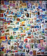 INDIA USED COMMEMORATIVE STAMPS-1000 All Different Used Large Postage Stamps