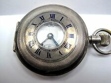 Antique 1900's The Thavies Silver #925 Pocket Watch, 47mm in size.