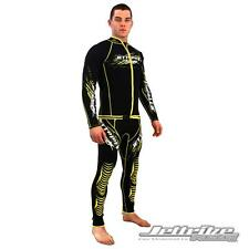 Sale - Jettribe All-Star Black/Yellow Wetsuit PWC Jet Ski - Size Small (12470-Y)