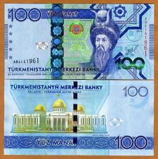 Turkmenistan, 100 Manat, 2014, P-34, UNC
