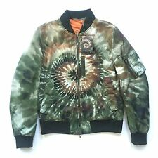 NWT $2k Valentino Garavani Men's RUNWAY Tie Dye MA-1 Bomber Jacket M AUTHENTIC