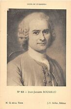 BF40922 jean jacques rousseau st quentin Famous People World leader
