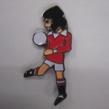 Man Utd #7 Legend George Best Pin Badge, Rosso Bianco Nero & A Guy Called Minty.