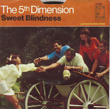 THE 5th DIMENSION Sweet Blindness 45 RECORD WITH PS PIC SLEEVE EX