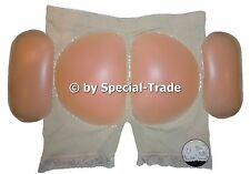 "Push-Up Panty Silicone Pushup Panties Buttocks Hips, beige, (48-50) ""XXL"" (614)"