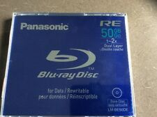 PANASONIC BLURAY DISC BD RE 50GB FOR DATA /REWRITABLE 1~2 dual layer