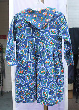 Kids Graffiti BNWT Gorgeous Girls Long Sleeve Blue 100% Cotton Dress Age 4-5 NEW
