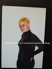 Vtg Photo of Young Adult Girl/Lady With Bleached Orange Hair Posing For Pic P97