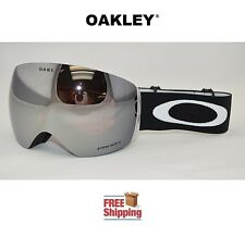 OAKLEY® FLIGHT DECK™ PRIZM™ SNOW BOARD SKI GOGGLES BLACK W/ BLACK IRIDIUM MIRROR