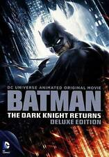 BATMAN THE DARK KNIGHT RETURNS New 3 DVD Set Deluxe Edition Animated Movie