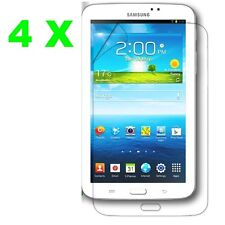 4X Ultra Clear Screen Protector Film Cover Guard Samsung Galaxy Tab 3 7 inch+KIT