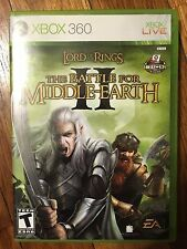 Lord of the Rings Battle for Middle-earth II (Xbox 360 2006) USED