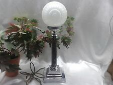 RARE EXQUISITE ORIGINAL ODEON STYLE ART DECO 1930's TABLE DESK LAMP - REWIRED