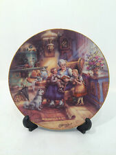 Bradford Exchange Omas Marchenstunde March Hour Limited Edition Plate