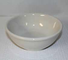 "CAC China Restaurant Ware Ivory Used Soup Bowls 6"" In Diameter"