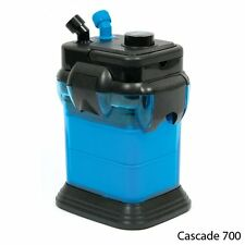 Penn Plax Cascade 700 GPH Canister Filter Aquarium Fresh Salt Water Up To 65 Gal