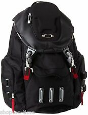 "Oakley Bathroom Sink 13"" Laptop / MacBook Pro Black Backpack / Daypack - New"