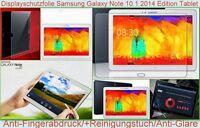 2 x Antireflex Samsung Galaxy Note 10.1 2014 Edition matt Display Schutz Folie