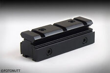 New Tri-Rail Dovetail 11mm to Weaver Picatinny Rail Adapter
