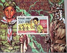 Tripartitas yibuti 1981 bloque 44 a S/s 544 Boy Scouts Boy Scout Jamboree mnh