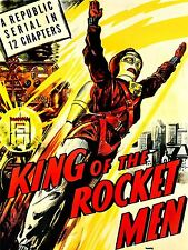 Movie film king Rocket hommes CRIME Sci Fi aventure USA POSTER ART PRINT lv6814