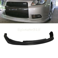 Fit 2005-2010  tC Poly Urethane PU Front Bumper Lip Spoiler Body Kit