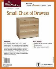 Fine Woodworking's Small Chest of Drawers by Timothy Rousseau (2015, Print,...