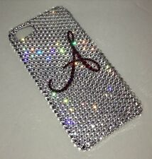 Initial Crystal BLING BACK CASE FOR IPHONE 6s 6 PLUS Made W/ SWAROVSKI ELEMENTS
