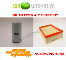 PETROL SERVICE KIT OIL AIR FILTER FOR FORD ESCORT 1.8 116 BHP 1995-98