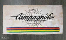 Cycling wood print, Campagnolo, vintage style poster, retro bicycle ads