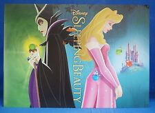 "Sleeping Beauty 4 pc Lithograph Set & Folder Disney Store Authentic 10"" x 14"""