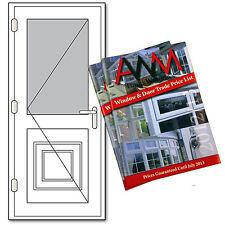 uPVC Single Door PRICE LIST - 40 Page A6 DIY Window & Door Trade Price List