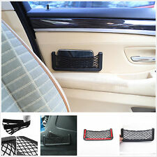 Car SUV Portable Storage Resilient Net Organize Tickets Sundries iPhone 6 Coins