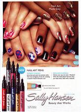 Sally Hansen Nail Art Pen Lot of 5 Different Color Nail Art Pen No Repeat Color
