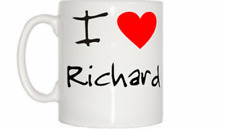 I Love Heart Richard Mug