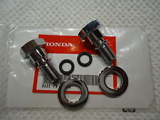 "HONDA FORK BOLTS CAPS & ""O"" RINGS SL70 (1971-73) XL70 (1974-76) XL75 (1977-79)"