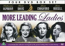 MORE LEADING LADIES BETTE DAVIS JANE RUSSELL KATHERINE HEPBURN JOAN CRAWFORD DVD