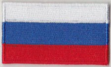 Russia Country Flag Embroidered Patch T4