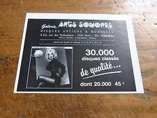 DOLLY PARTON - Petite Publicité de magazine / Advert ARTS SONORES !!!!!!!