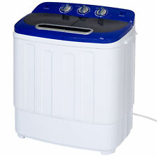 best choice products portable compact mini twin tub washing machine and spin - Haier Washer Dryer Combo
