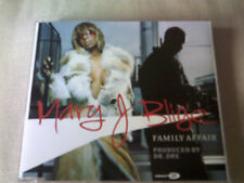 MARY J. BLIGE - FAMILY AFFAIR - R&B CD SINGLE