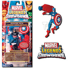 Marvel Legends Showdown Battle Pack Series 2 Captain America Figure - Toy Biz